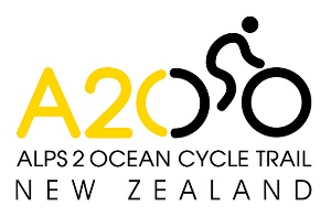 Alps to Ocean Cycle Trail Logo