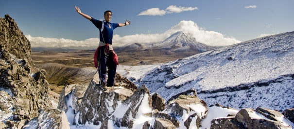 4 Day Tongariro Hiking Tour Lodge Based