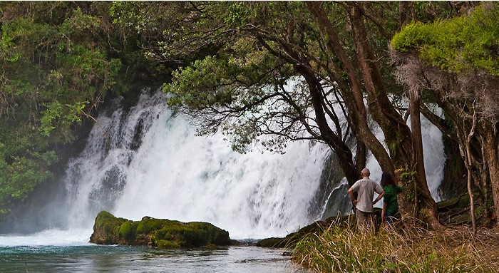 Lake Tarawera Boat Cruise & Waterfall Walk