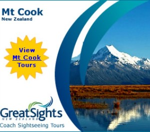 Great Sights Mt Cook Tours