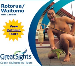 Great Sights Rotorua/Waitomo Tours